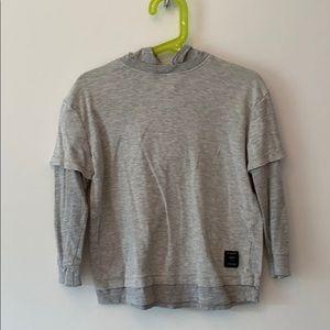 Zara Boys Hooded T-Shirt